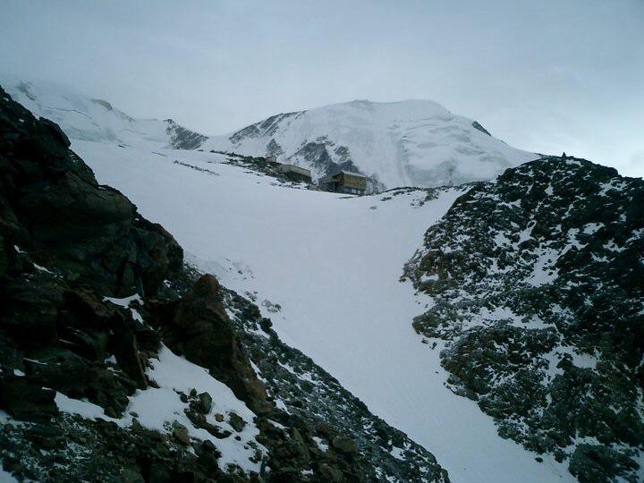 refúgio Tête Rousse monte branco alpes