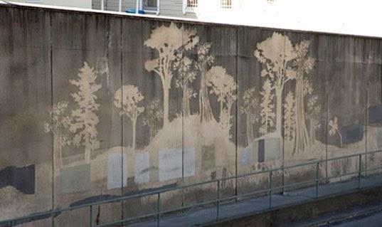 reverse graffiti, amigo do ambiente