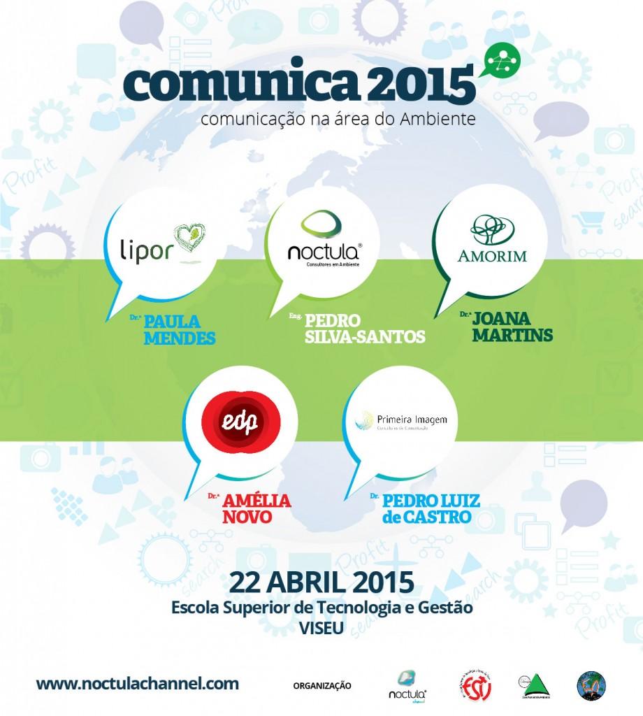Comunica 2015 comunicação na área do ambiente