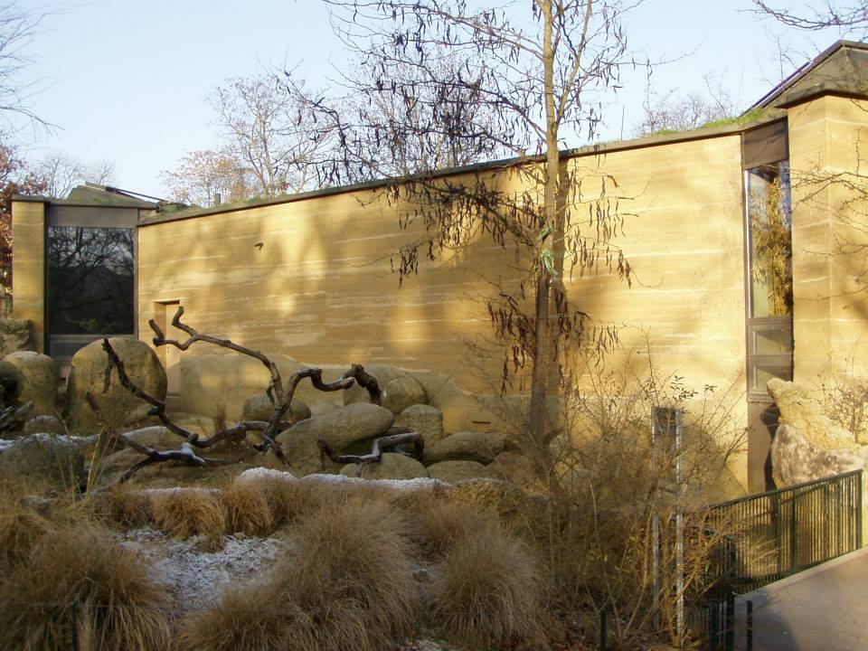 Martin Rauchs Etosha House no Zoo de Basel Suiça