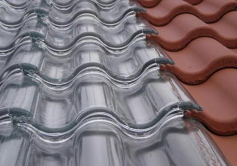 Sistema de aquecimento telhas de vidro