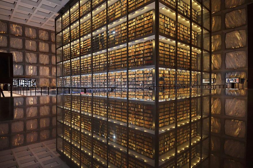biblioteca de livros raros e manuscritos universidade yale