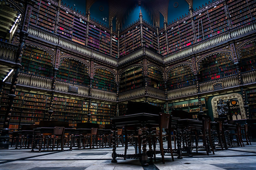 biblioteca real gabinete portugues de leitura rio de janeiro