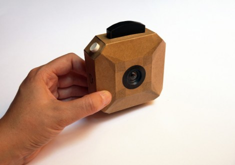 câmara fotográfica de carão diy