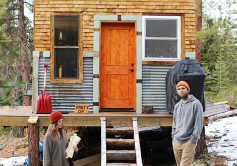 casa materiais reutilizados