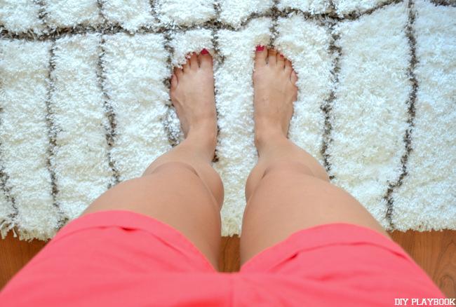 como manter o quarto quente tapetes