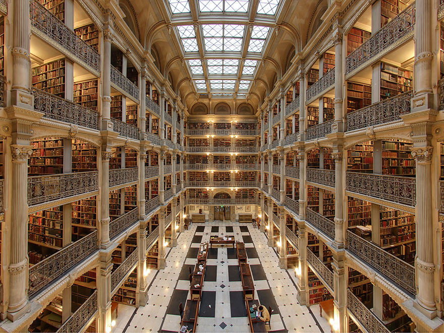 george peabody biblioteca baltimore