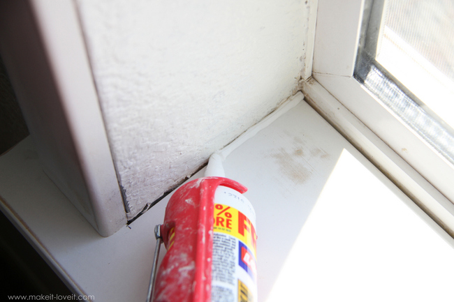 isolamento caixilhos das janelas