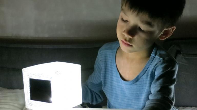 lanterna solar solarpuff