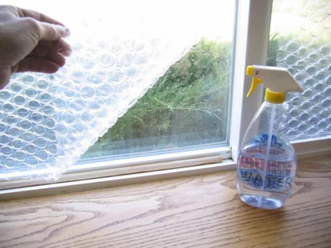 manter a casa quente janelas