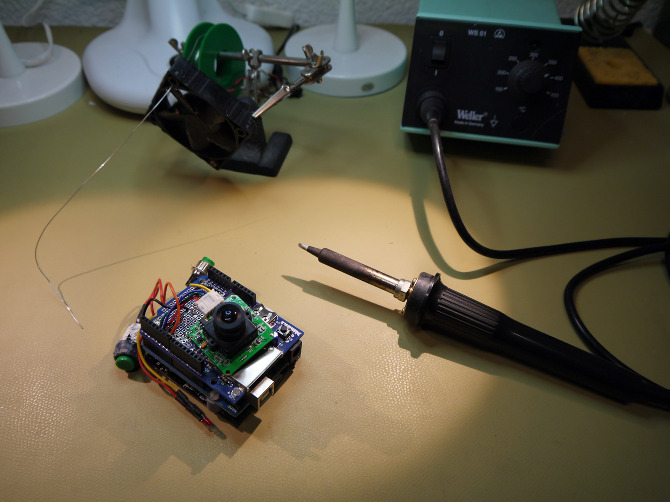 como fazer uma máquina fotográfica simples