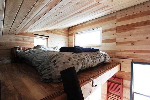 construir uma casa - quarto casa materiais reutilizados
