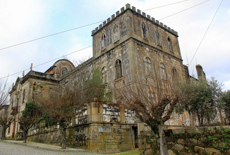 Palácio de Midões Tábua locais abandonados em portugal