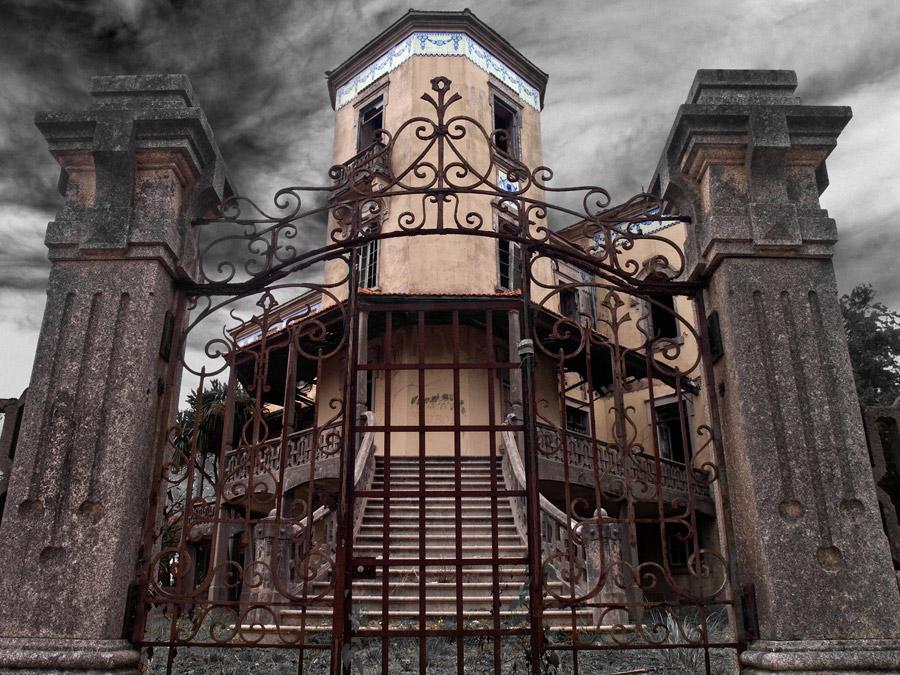 Palacete Rosa Pena Espinho locais abandonados em portugal