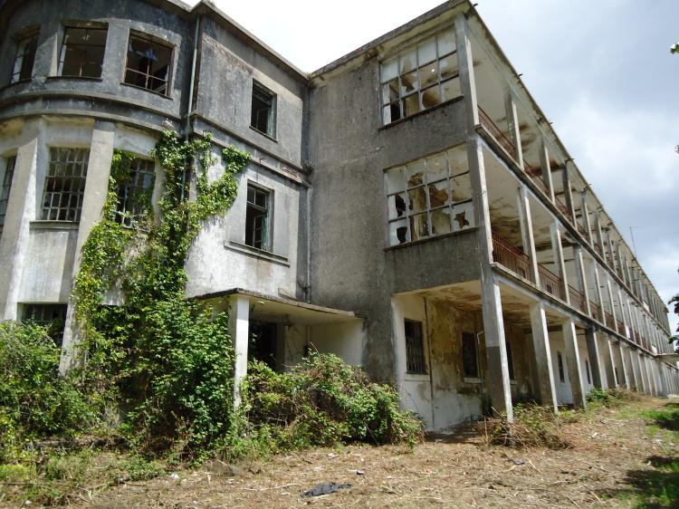 Sanatório do Caramulo Tondela locais abandonados