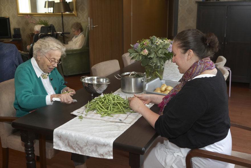 auxiliares em lar de idosos holanda