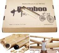 A BambooBee é a primeira bicicleta do mundo em bambu que pode ser feita em casa. Criada pelo engenheiro chinês Sunny Chuan, é comercializada pela internet.