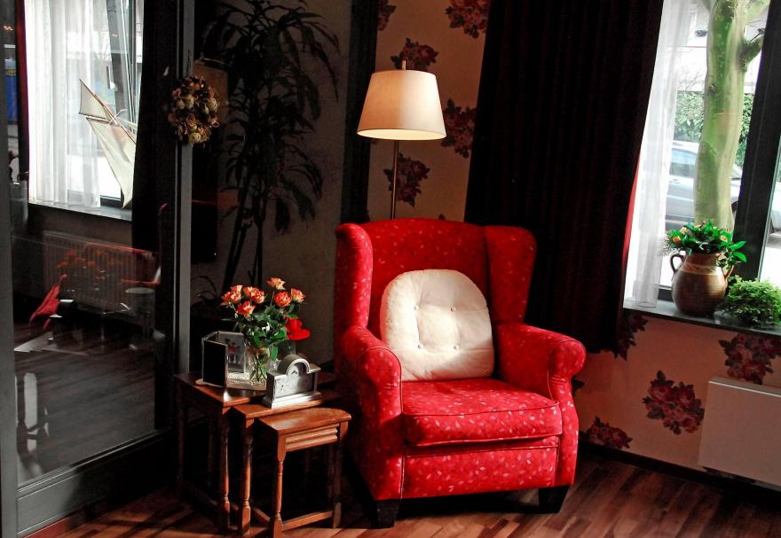 lar de idosos demência design interiores