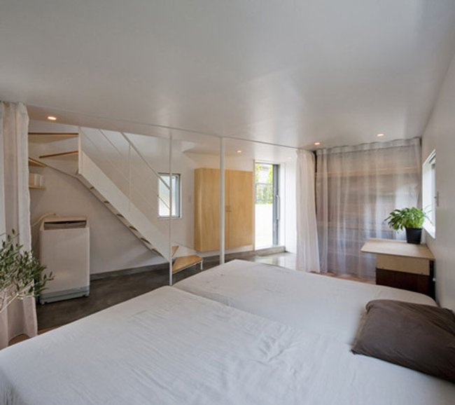 quarto casa triangular japão