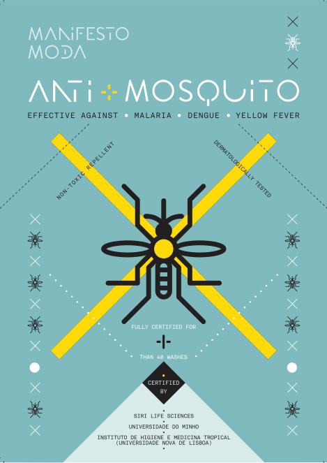 roupa inteligente repelente de mosquitos manifesto moda