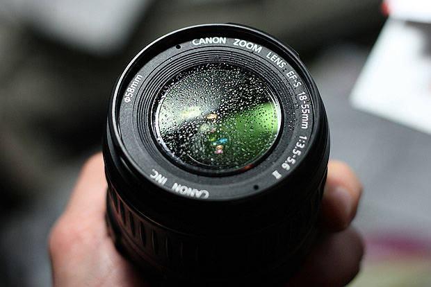 sílica lente câmara fotográfica