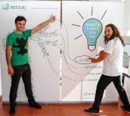 """Pedro Silva-Santos no workshop """"Como conseguir emprego em 30 dias"""" em Abrantes."""