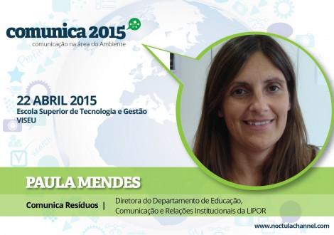 Comunica 2015_Paula Mendes_Marketing Ambiental Comunicação