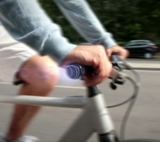 smrtGRIPS é um mapa da cidade incorporado na própria bicicleta, indica o caminho que deves seguir através de vibrações no guiador.