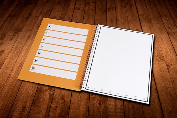 O Rocketbook é uma combinação entre um caderno especial e uma aplicação móvel. Estes dois componentes permitem ao utilizador criar desenhos ou apontamentos à mão, e, de uma forma muito fácil e rápida, guardar essa informação em formato digital.
