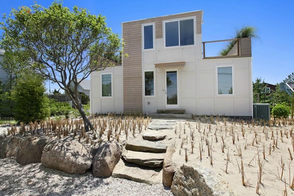 contentores Casa praia Hamptons, Nova Iorque Estados Unidos