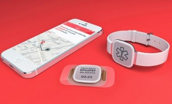 The Dialog é um sensor em forma de adesivo que dá um sinal de alerta quando o utilizador está prestes a ter um ataque epilético.
