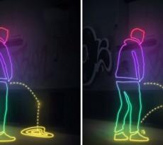 Fartos de pessoas bêbadas a usar a rua como casa de banho pública, os residentes de St. Pauli, a zona de bares e discotecas da cidade alemã de Hamburgo, decidiram vingar-se de uma forma criativa, usando uma tinta especial que salpicava de volta a urina!