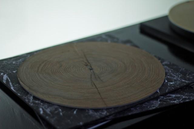 """O músico alemão Bartholomäus Traubeck, conseguiu tirar o som de uma árvore com a ajuda de um gira-discos especial que lê madeira. O músico criou uma forma de """"extrair"""" e """"traduzir"""" música de uma fina fatia de um tronco de uma árvore."""