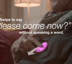 A empresa americana Smartstones criou um aparelho que permite enviar mensagens de emergência com um simples gesto.