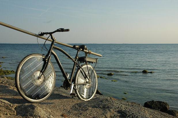 bicicleta solar bike elétrica