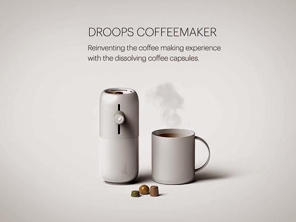 drops-coffe-maker máquina de café cápsulas de café