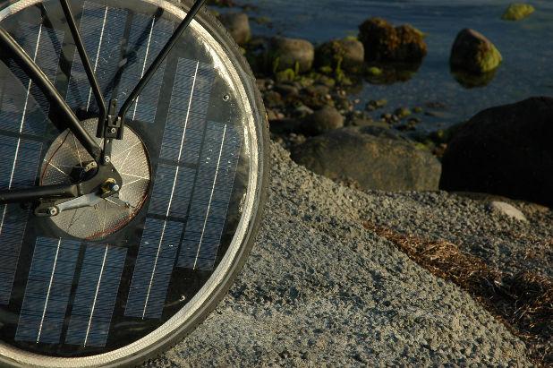 energia solar bike bicicleta solar