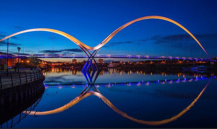 Infinity Bridge inglaterra
