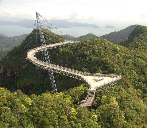Langkawi Sky Bridge malásia