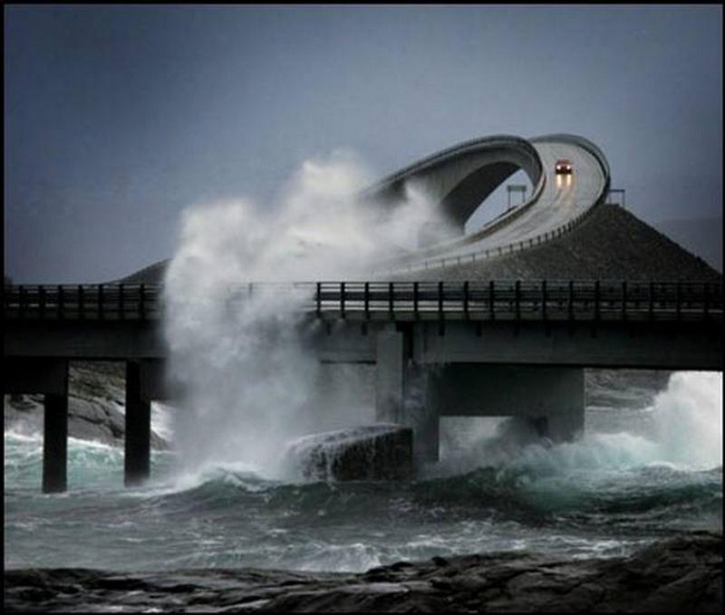 Storseisundet Bridge ponte noruega