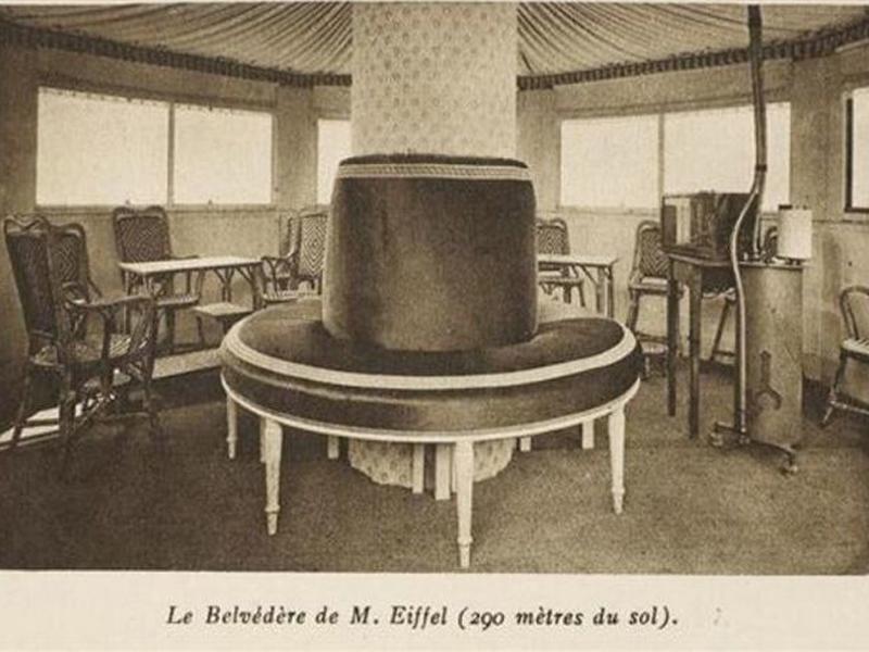 apartamento escondido Eiffel