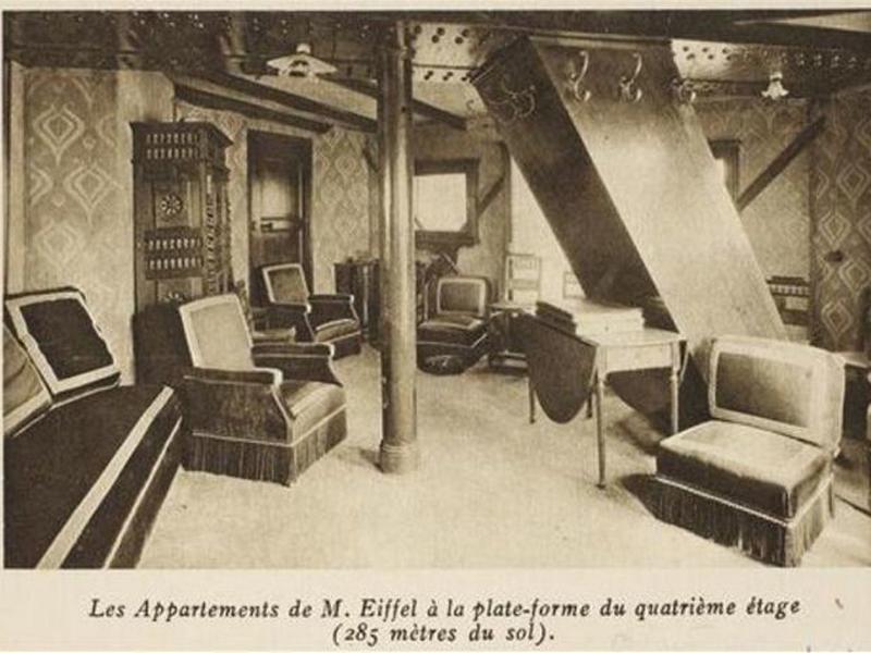 apartamento secreto Torre Eiffel