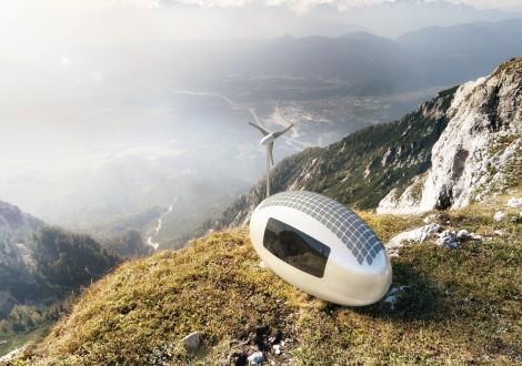 ecocapsule natureza casa