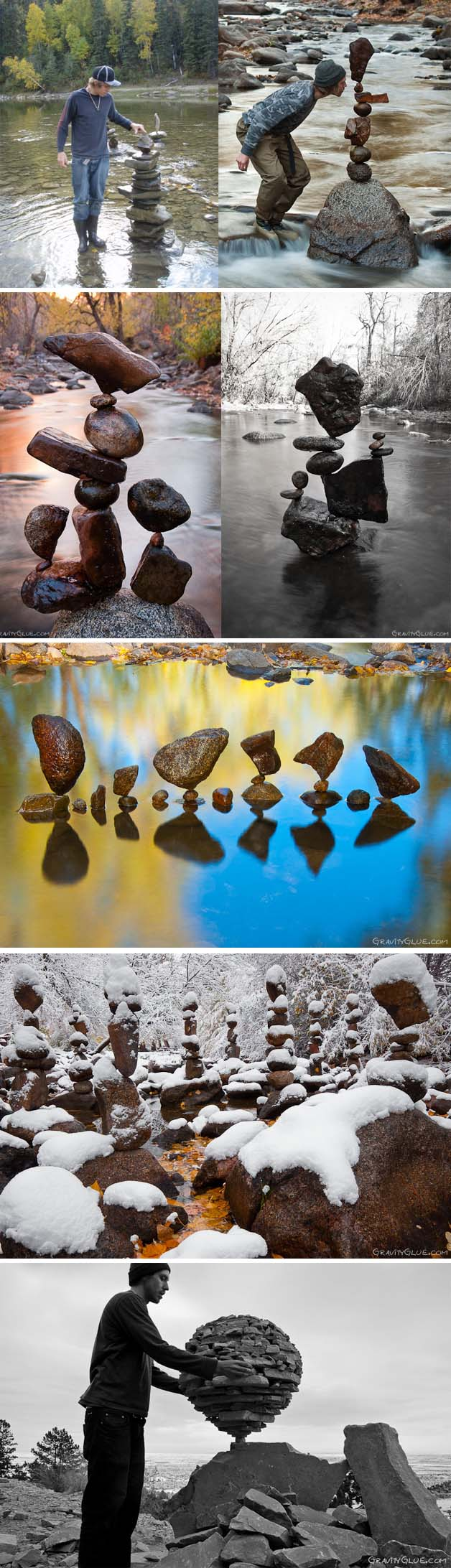 equilibrar pedras michael grab