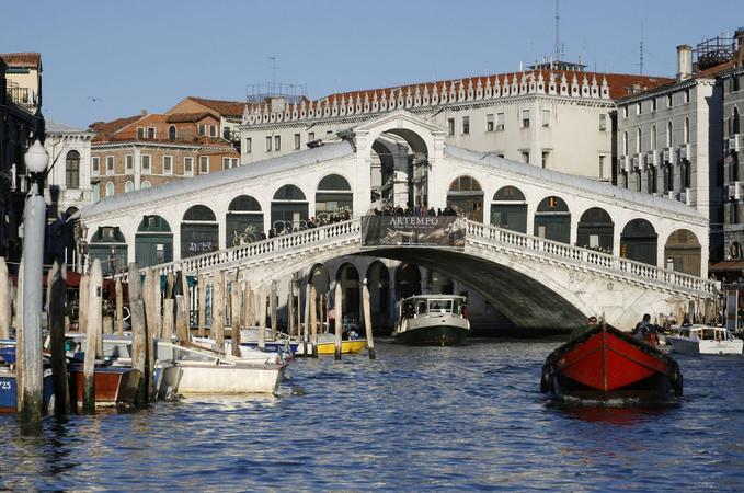 ponte di rialto veneza