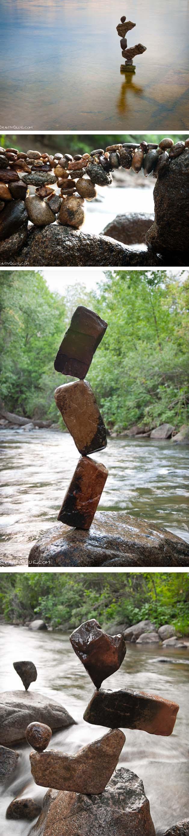 rochas em equilíbrio