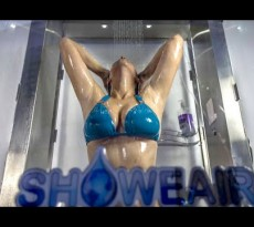 showear banho poupar água