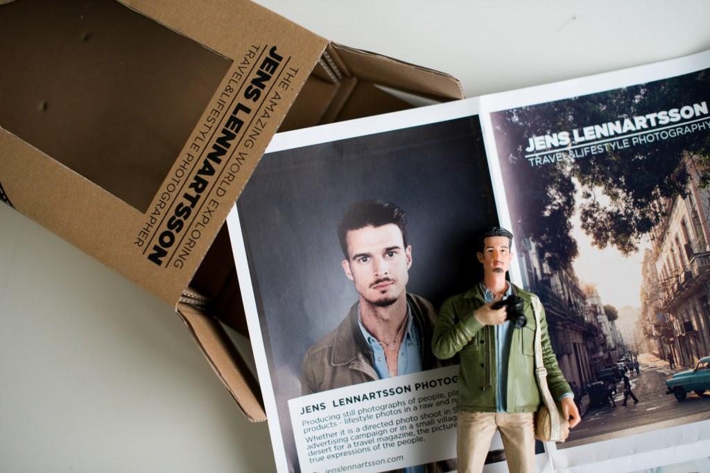 Jens Lennartsson Photography boneco de ação
