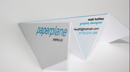 cartões de visita designer