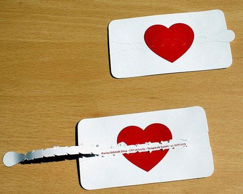 cartões de visita terapeuta casais